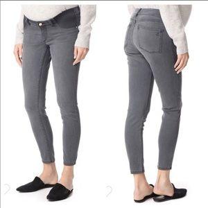 DL 1961 Rosie Maternity Gray Skinny Denim Jeans